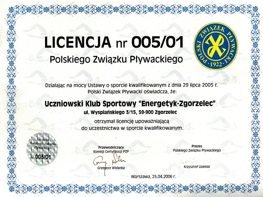 Scan licencja